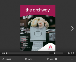 The Archway e-Newsletter - Fall 2018